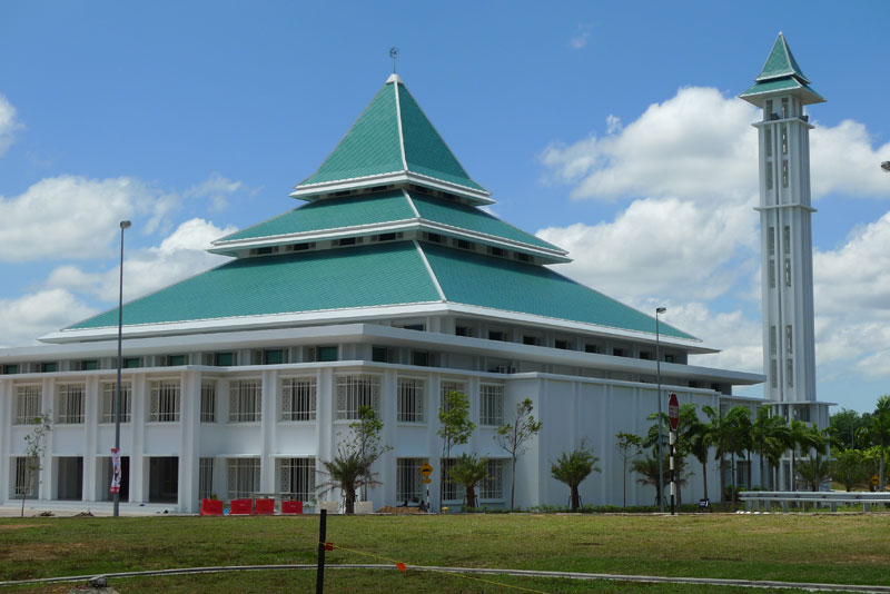 Rolform Shingle Roof with PVDF Aluminium Finish Melaka